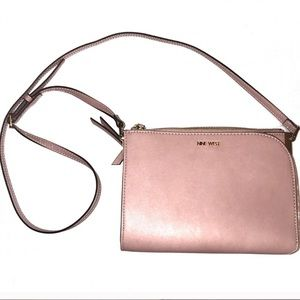 Nine West Crossbody Small Purse Darcelle NWT Pink